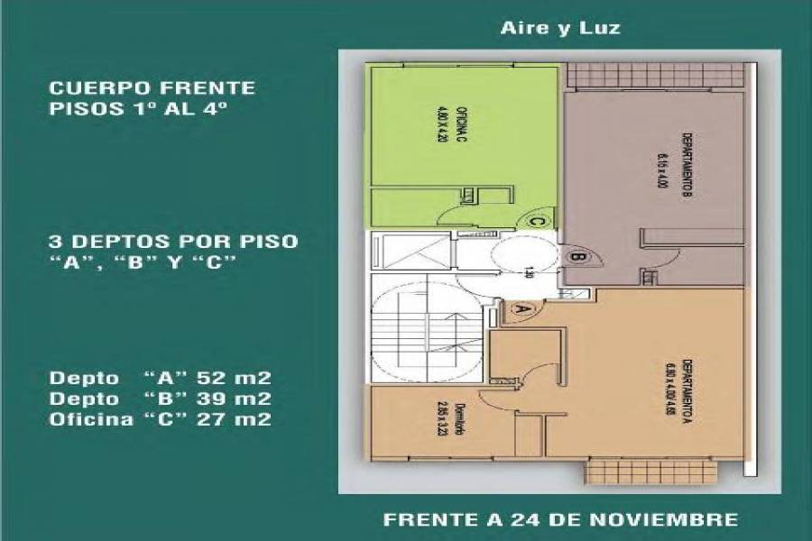 Balvanera,Capital Federal,Argentina,2 Bedrooms Bedrooms,1 BañoBathrooms,Apartamentos,24 DE NOVIEMBRE ,6744