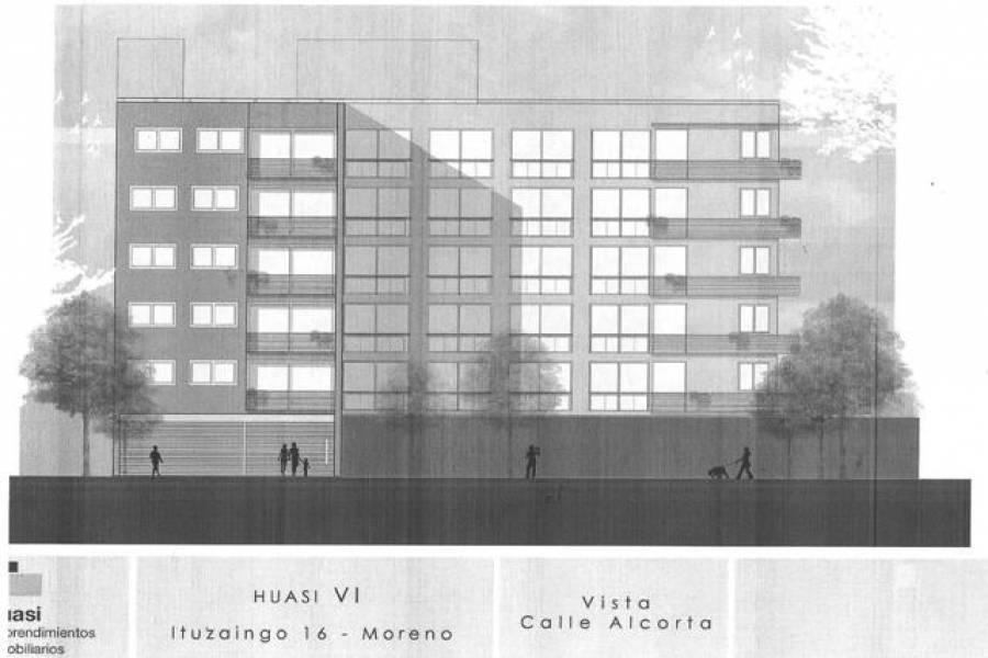 Moreno,Buenos Aires,Argentina,2 Bedrooms Bedrooms,1 BañoBathrooms,Apartamentos,ITUZAINGO,6941
