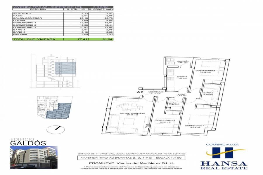 Alicante,Alicante,España,3 Bedrooms Bedrooms,2 BathroomsBathrooms,Pisos,8268